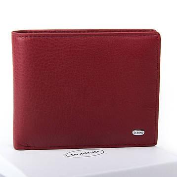 Жеснкий кошелек Classic кожа DR. BOND WN-7 бордовый, фото 2