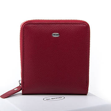 Жеснкий кошелек Classic кожа DR. BOND WN-5 бордовый, фото 2