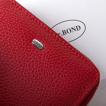 Жеснкий кошелек Classic кожа DR. BOND WN-4 красный, фото 2