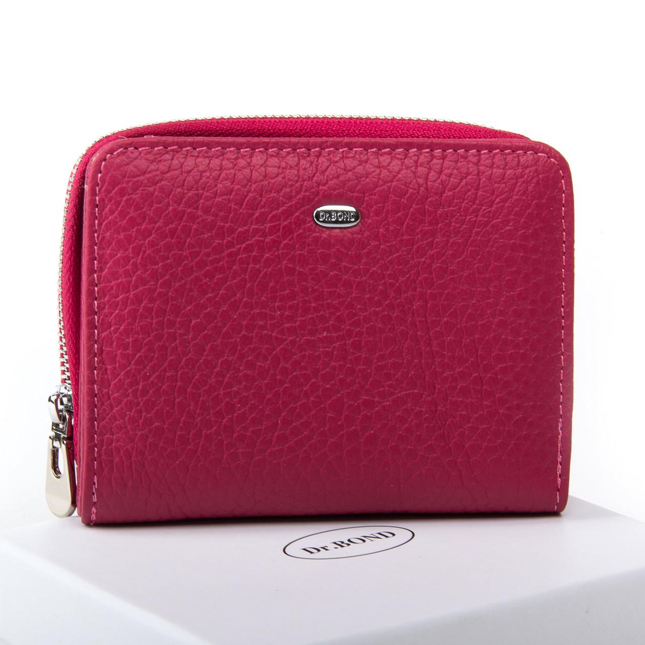 Жеснкий кошелек Classic кожа DR. BOND WN-4 розовый