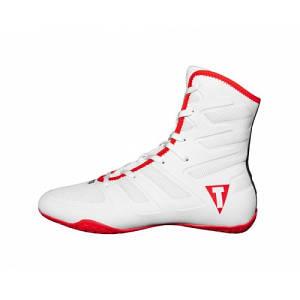 Боксерки TITLE Boxing Total Balance Boxing Shoes White Red 41