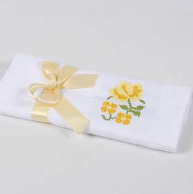 Полотенце кухонное Lotus Life - Белый 40*60