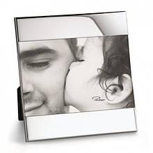 """Большая рамка для фотографий из никелированной стали с зеркальной полировкой """"Zak"""" размер фотографии 20*25"""