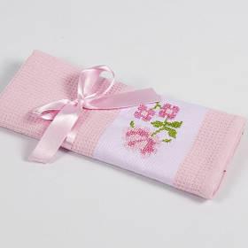 Полотенце кухонное Lotus Life - Розовый 40*60