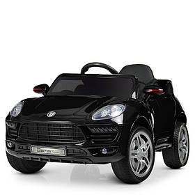 Дитячий електромобіль (2 мотора за 30W, 2 акум, MP3, FM) Bambi M 3178EBLRS-2 Чорний