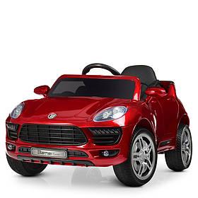Дитячий електромобіль (2 мотора за 30W, 2 акум, MP3, FM) Bambi M 3178EBLRS-3 Червоний