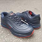 Кросівки чоловічі Bonote р. 45 темно-сині кожзам осінь/весна, фото 3