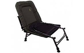 Розкладушка-ліжко коропова для риболовлі та відпочинку Elektrostatyk L6, фото 2