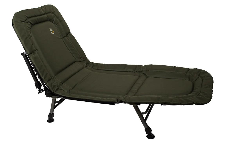 Розкладушка-ліжко коропова для риболовлі та відпочинку Elektrostatyk L6