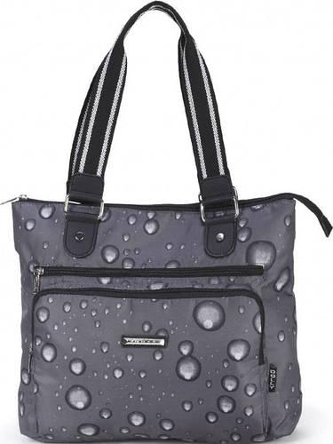 Женская прочная сумка из прочной болоньевой ткани Dolly (Долли) 460 серый