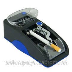 Машинка для сигарет електрична Gerui GR-12, Синя (100284)