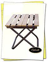 Стульчик раскладной (деревянные рейки)