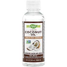 """Кокосовое масло Nature's Way """"Liquid Coconut Premium Oil"""" очищенное (300 мл)"""