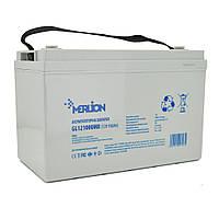 Гелевый аккумулятор для отопительного котла Merlion GL121000M8, 12Вольт, 100Ач