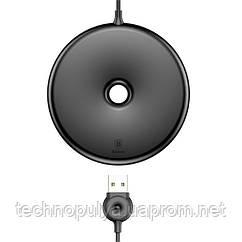 Бездротове зарядний пристрій Baseus Donut Wireless Charger Black 10W (WXTTQ-01)