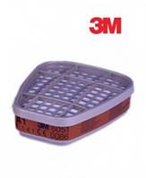 Фильтр угольный к респиратору 3M  от органических паров  6051