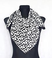Шелковый платок Энди 90*90 см белый