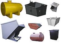 Емкости, баки, контейнеры, бадьи, урны, мусорные баки