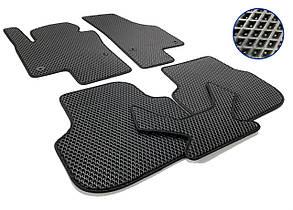 Коврики в салон для Volkswagen Jetta (2010-) EVA-чёрные, кт. 5 шт.