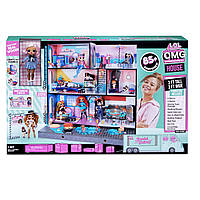 Модний будинок лол особняк з великою лялькою ОМГ Аптаун LOL Surprise OMG House New Real Wood Doll House (577270)