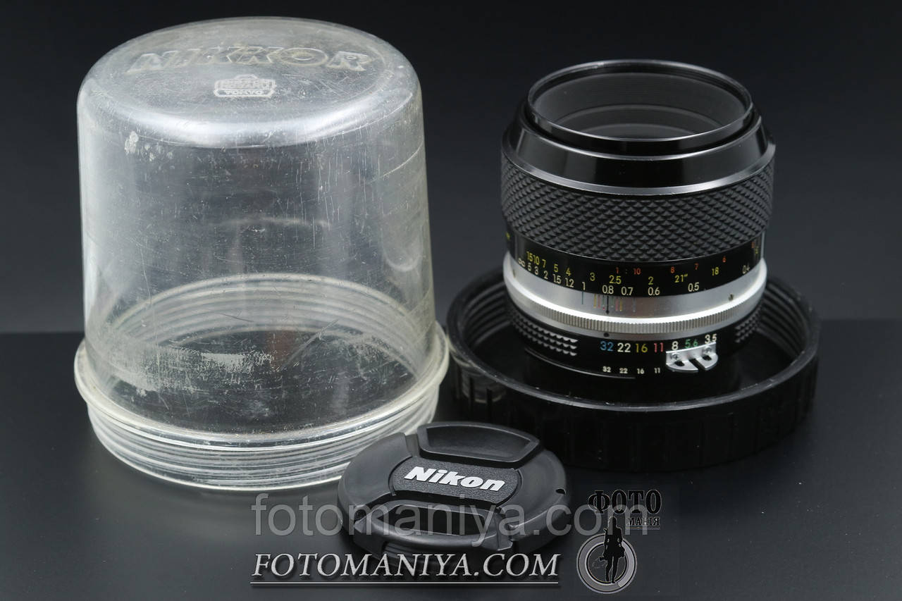 Nikon Micro-Nikkor-P 55mm f3.5 Ai