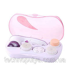 Багатофункціональна електрична щітка для обличчя Білий Facial Cleansing Brush (120)