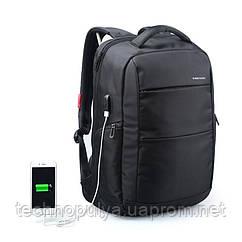 Рюкзак городской Kingsons KS3142W 15.6 с USB портом Черный (4205-12221)