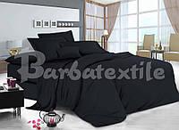 Двоспальне постільна білизна RANFORCE чорне