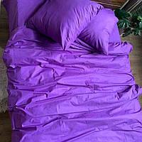 Двоспальне постільна білизна RANFORCE бузкове