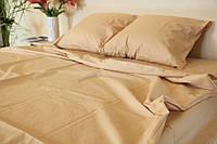 Двоспальне постільна білизна RANFORCE бежеве