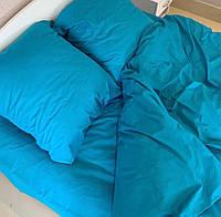 Двоспальне постільна білизна RANFORCE бірюзове