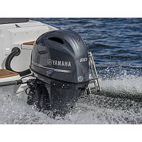Лодочный мотор Yamaha, 80 лс, 4 тактный, F80DETX (F80XB) - подвесной мотор для яхт и рыбацких лодок, фото 2