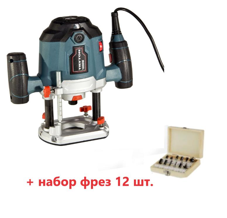 Фрезер TRYTON BB-17 + набір фрез 12 шт