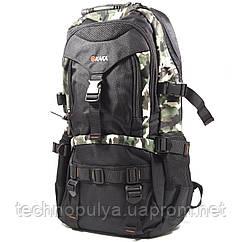 Рюкзак для путешествий KAKA 2020 D водоотталкивающий Камуфляж (4215-12228)