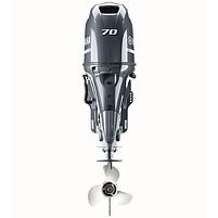 Двигун для човна Yamaha F70AETX- підвісний двигун для яхт і рибальських човнів, фото 2