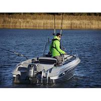 Двигун для човна Yamaha F70AETX- підвісний двигун для яхт і рибальських човнів, фото 3