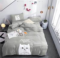 Полуторна постільна білизна - Кіт