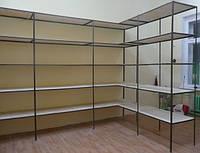 Металлические стеллажи, этажерки, фото 1