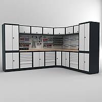 Угловой комплект Мебели для гаража