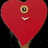 Настінний годинник-серце
