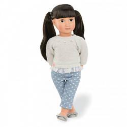Игрушка кукла детская Мей Ли, 46 см, Our Generation, Реборны, куклы, пупсы
