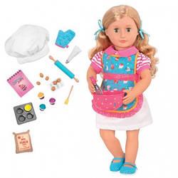 Игрушка кукла детская, кондитер Дженни, 46 см, Our Generation, Реборны, куклы, пупсы