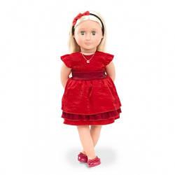 Кукла для девочки Джинджер с одеждой и аксессуарами, 46 см, Our Generation