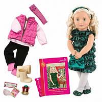 Кукла большая детская Одри, с аксессуарами, 46 см Our Generation