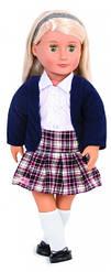 Большая кукла, в школьной форме, 46 см, Our Generation
