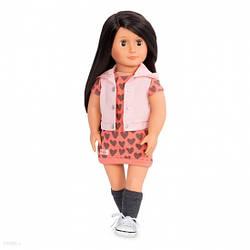 Большая кукла Лили, 46 см, Our Generation