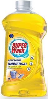 """Super Wash ТМ """"Пуся"""" Універсальний миючий засіб для миття підлоги 1л. 01751"""