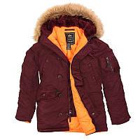 Зимняя куртка Аляска Slim fit N-3B Parka (Альфа Индастриз) Слим Фит, фото 1