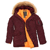 Зимняя куртка Аляска Slim fit N-3B Parka (Альфа Индастриз) Слим Фит