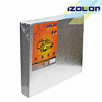 IZOLON AUTO ALU 50х50х0,8 см на самоклейке 10 шт